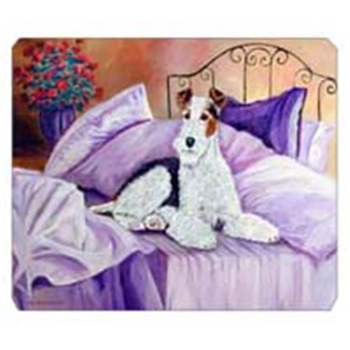 Carolines Treasures 7121MP 8 x 9.5 in. Fox Terrier Waiting on Mom Mouse Pad