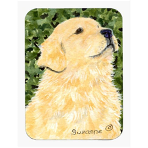Carolines Treasures SS8810MP Golden Retriever Mouse Pad & Hot Pad Or Trivet
