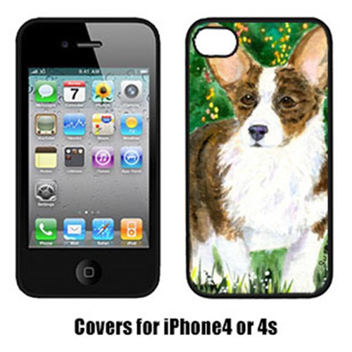 Carolines Treasures SS8970IP4 Corgi Cell Phone Cover Iphone4