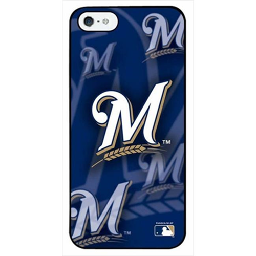 Sports Images MLB Milwaukee Brewers 3D Logo iPhone 4 & 4S Case