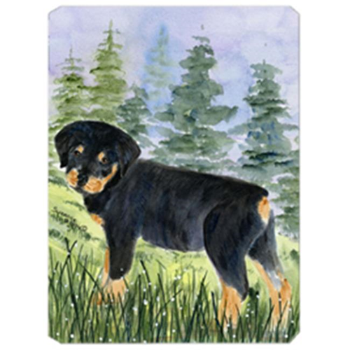 Carolines Treasures SS8057MP Rottweiler Mouse Pad Hot Pad & Trivet