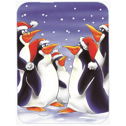Carolines Treasures AAH7264MP Holiday Penguins Mouse Pad Hot Pad or Trivet