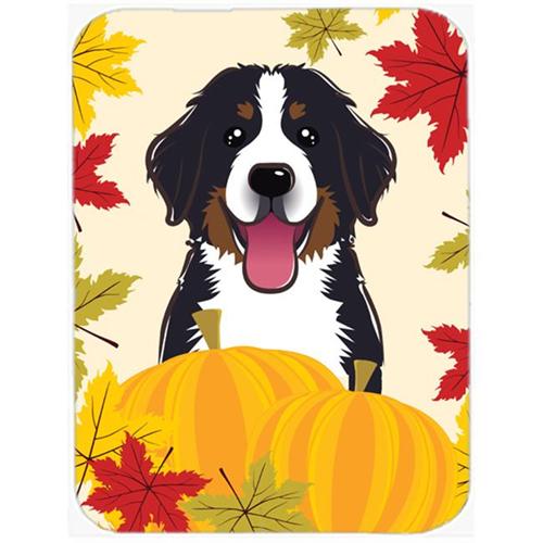 Carolines Treasures BB2043MP Bernese Mountain Dog Thanksgiving Mouse Pad Hot Pad or Trivet