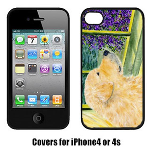 Carolines Treasures SS8680IP4 Golden Retriever Cell Phone Cover Iphone4