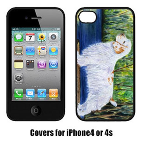 Carolines Treasures SS8261IP4 Clumber Spaniel Cell Phone cover IPhone 4