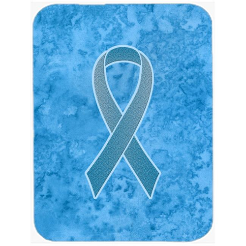 Carolines Treasures AN1206MP 7.75 x 9.25 In.Blue Ribbon for Prostate Cancer Awareness Mouse Pad Hot Pad or Trivet
