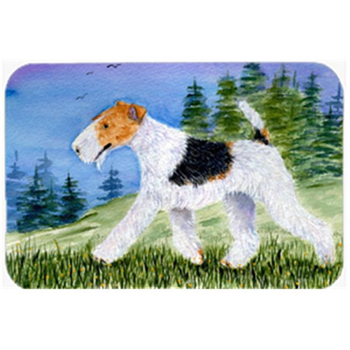 Carolines Treasures SS8599MP Fox Terrier Mouse Pad & Hot Pad Or Trivet