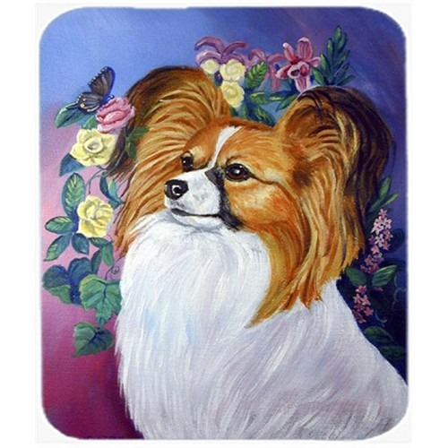 Carolines Treasures 7041MP 9.5 x 8 in. Papillon Mouse Pad Hot Pad or Trivet