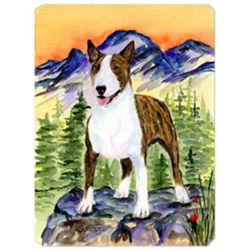 Carolines Treasures SS8167MP Bull Terrier Mouse Pad Hot Pad & Trivet