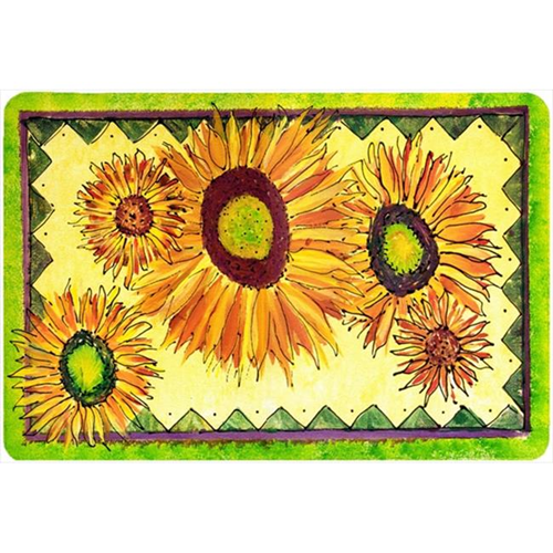 Carolines Treasures 8060MP Flower - Sunflower Mouse Pad Hot Pad Or Trivet