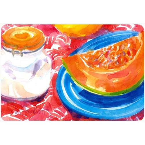 Carolines Treasures 6036MP A Slice Of Cantelope Mouse Pad Hot Pad Or Trivet
