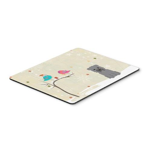 Carolines Treasures BB2531MP Christmas Presents Between Friends Glen of Imal Grey Mouse Pad Hot Pad or Trivet