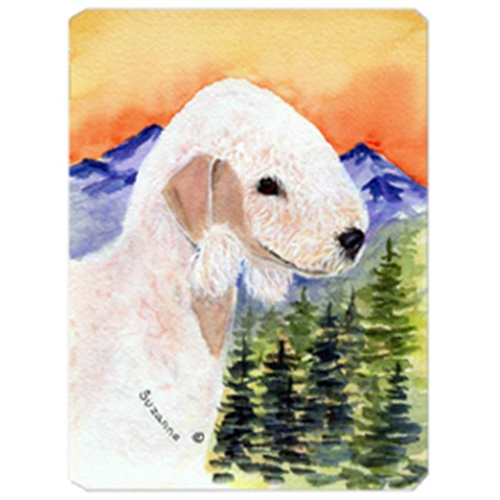 Carolines Treasures SS8158MP Bedlington Terrier Mouse Pad Hot Pad & Trivet