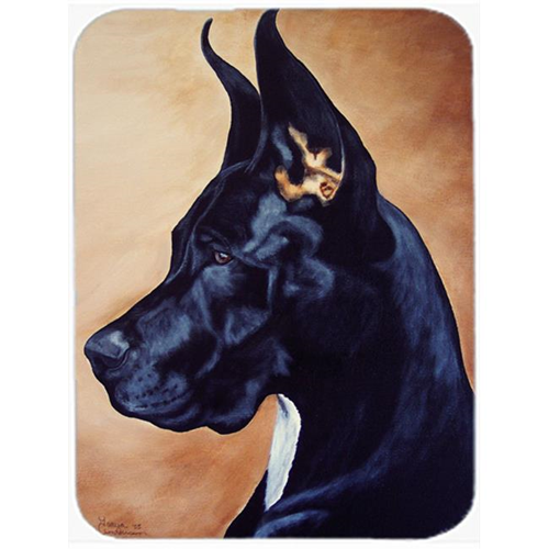 Carolines Treasures AMB1041MP Black Great Dane Mouse Pad Hot Pad or Trivet