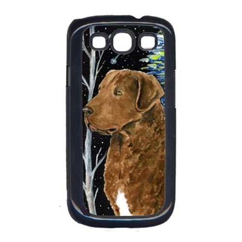 Carolines Treasures SS8411GALAXYSIII Starry Night Chesapeake Bay Retriever Cell Phone Cover For Galaxy S111