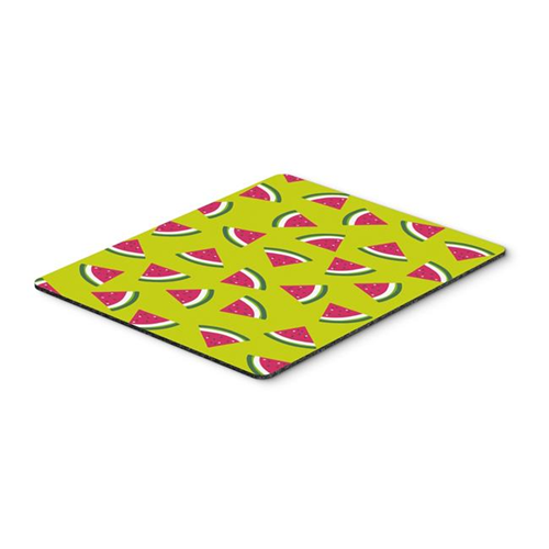 Carolines Treasures BB5151MP Watermelon on Lime Green Mouse Pad Hot Pad or Trivet