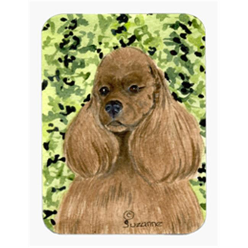 Carolines Treasures SS8809MP Cocker Spaniel Mouse Pad & Hot Pad Or Trivet