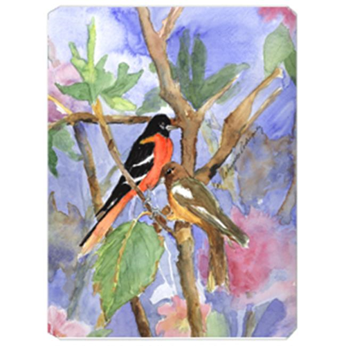 Carolines Treasures KR9026MP 9.5 x 8 in. Bird - Baltimore Oriole Mouse Pad Hot Pad Or Trivet