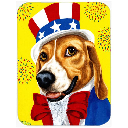 Carolines Treasures AMB1337MP Unble Sams USA Beagle Mouse Pad Hot Pad or Trivet