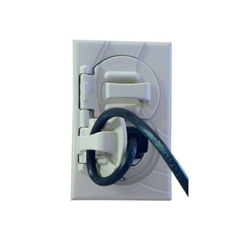 StayConnect IR300-DW Outlet Cover with Hook - White