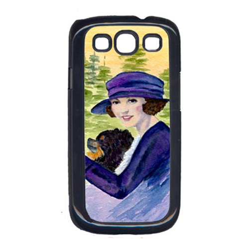 Carolines Treasures SS8538GALAXYSIII Lady Driving With Her Pomeranian Cell Phone Cover Galaxy S111