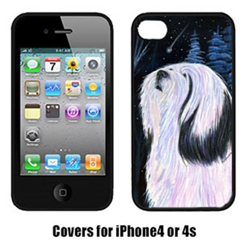 Carolines Treasures SS8348IP4 Tibetan Terrier Cell Phone cover IPhone 4