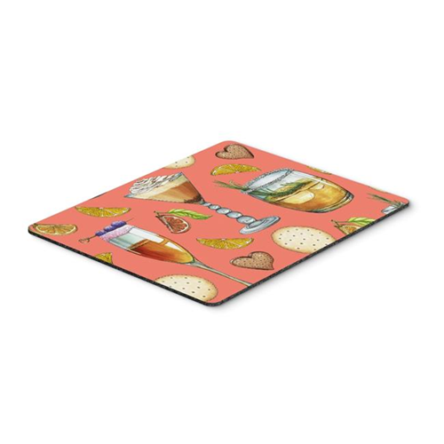 Carolines Treasures BB5201MP Drinks & Cocktails Salmon Mouse Pad Hot Pad or Trivet