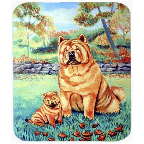 Carolines Treasures 7057MP 9.5 x 8 in. Chow Chow Mommas Love Mouse Pad Hot Pad or Trivet