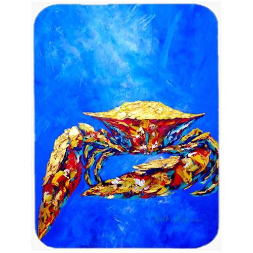 Carolines Treasures MW1187MP Blue Crab On Blue Sr. Mouse Pad Hot Pad & Trivet