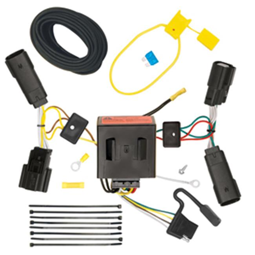 Tow Ready 118515 T-One Connector Assembly With Upgraded Circuit Protected Modulite HD Module 5.25 x 4 x 8.75 in.
