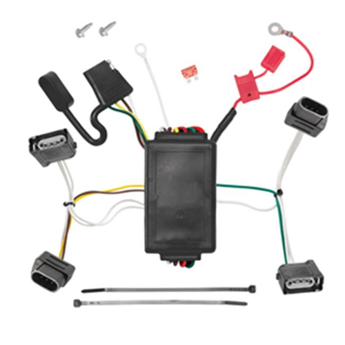 Tow Ready 118556 T-One Connector Assembly With Upgraded Circuit Protected Modulite Module 4 x 5.25 x 8.90 in.