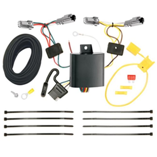 Tow Ready 118602 T-One Connector Assembly With Upgraded Circuit Protected Modulite Module 4 x 4.38 x 8.90 in.