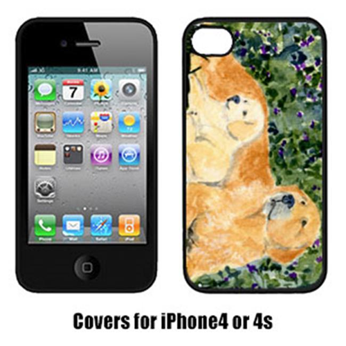 Carolines Treasures SS8852IP4 Golden Retriever Cell Phone Cover Iphone4