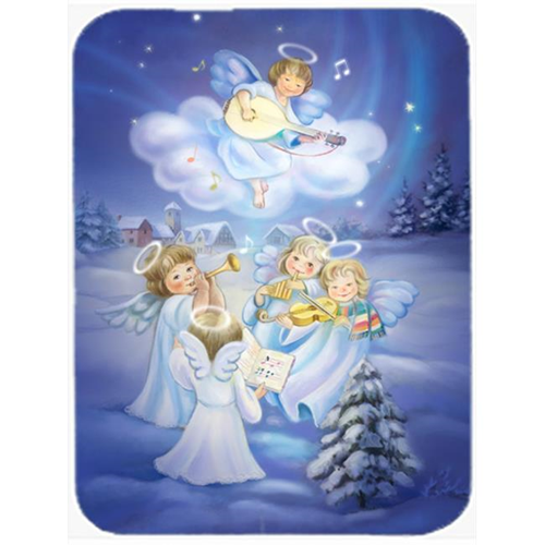 Carolines Treasures APH6028MP Angels Around the Tree Mouse Pad Hot Pad or Trivet