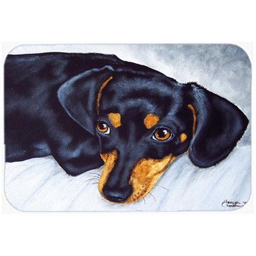 Carolines Treasures AMB1079MP Black & Tan Doxie Dachshund Mouse Pad Hot Pad or Trivet