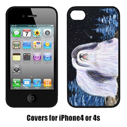 Carolines Treasures SS8450IP4 Starry Night Havanese Cell Phone cover IPhone 4