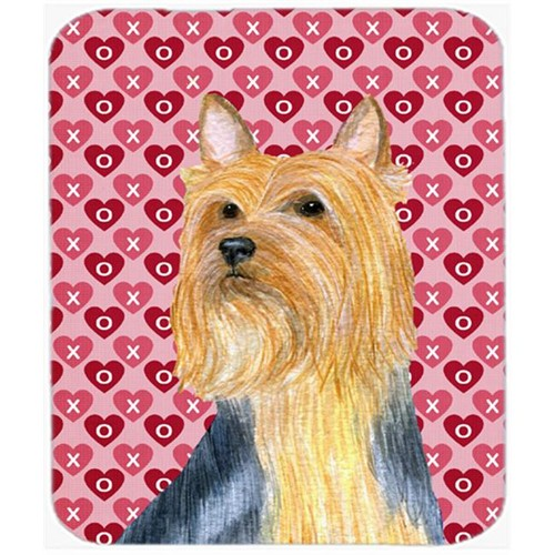Carolines Treasures LH9136MP Silky Terrier Hearts Love And Valentines Day Mouse Pad Hot Pad or Trivet