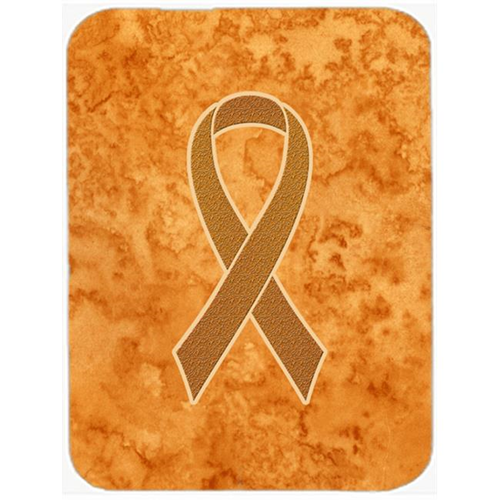 Carolines Treasures AN1204MP 7.75 x 9.25 In.Orange Ribbon for Leukemia Awareness Mouse Pad Hot Pad or Trivet