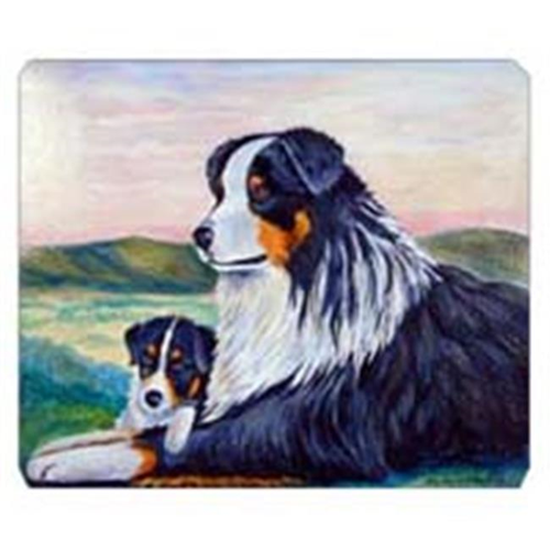 Carolines Treasures 7511MP 8 x 9.5 in. Australian Shepherd Mouse Pad Hot Pad or Trivet