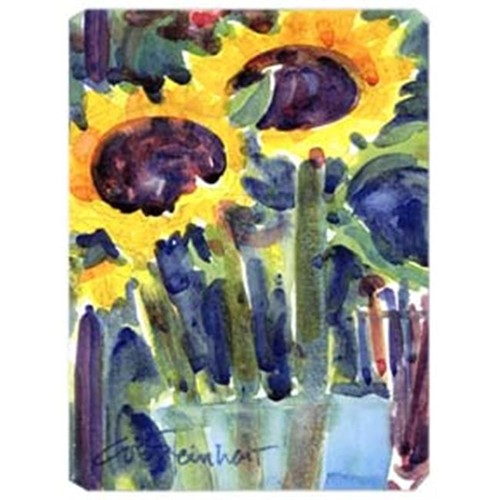 Carolines Treasures 6049MP 9.5 x 8 in. Flowers - Sunflower Mouse Pad Hot Pad Or Trivet