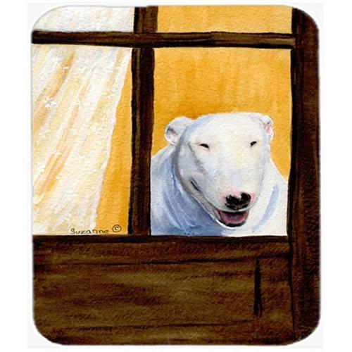 Carolines Treasures SS8542MP Bull Terrier Mouse Pad Hot Pad or Trivet