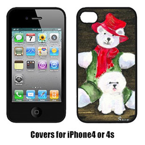 Carolines Treasures SS8948IP4 Bichon Frise Cell Phone Cover Iphone4