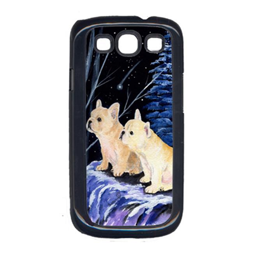 Carolines Treasures SS8395GALAXYSIII Starry Night French Bulldog Galaxy S111 Cell Phone Cover