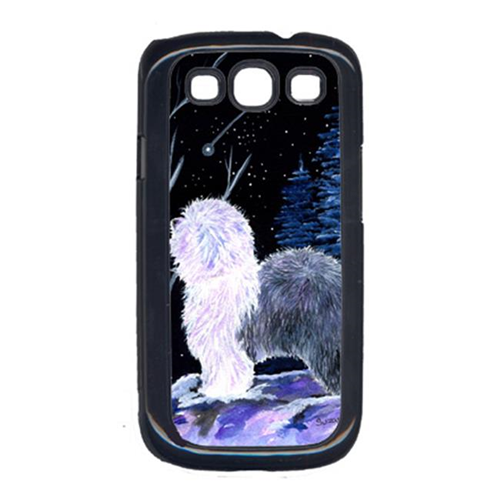 Carolines Treasures SS8401GALAXYSIII Starry Night Old English Sheepdog Cell Phone Cover Galaxy S111