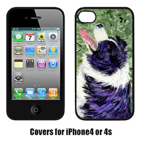 Carolines Treasures SS8843IP4 Border Collie Iphone 4 Cover
