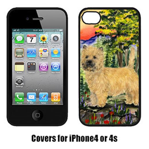 Carolines Treasures SS8229IP4 Cairn Terrier Cell Phone cover IPhone 4
