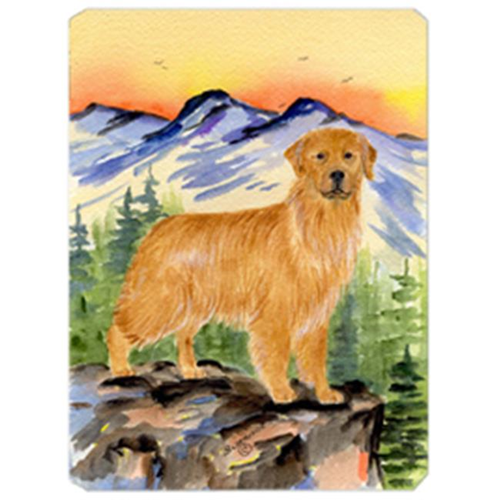 Carolines Treasures SS8163MP Golden Retriever Mouse Pad Hot Pad & Trivet