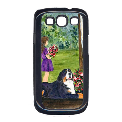Carolines Treasures SS8535GALAXYSIII Little Girl with her Bernese Mountain Dog Cell Phone Cover Galaxy S111