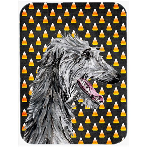 Carolines Treasures SC9669MP Scottish Deerhound Candy Corn Halloween Mouse Pad Hot Pad Or Trivet 7.75 x 9.25 In.
