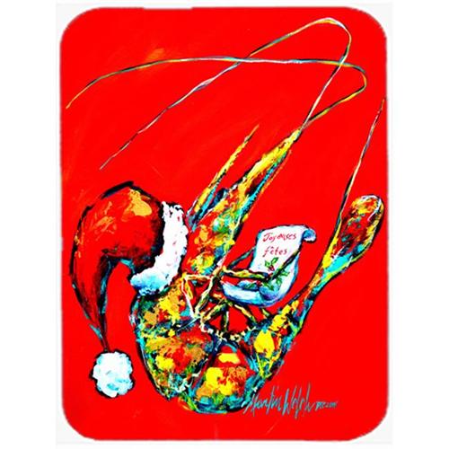 Carolines Treasures MW1197MP Happy Holidays Shrimp Mouse Pad Hot Pad & Trivet